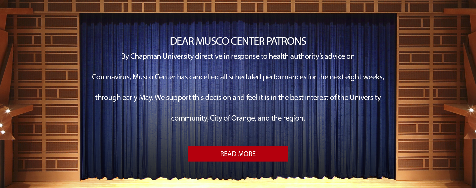 Musco Center Update