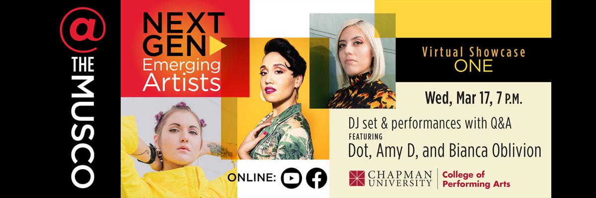 Next Gen_Emerging Artists 2 – DJ Shivarasa, Black Jade, Nora Rothman, and Kelleia